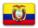 Ecuador fancy flag 160x120
