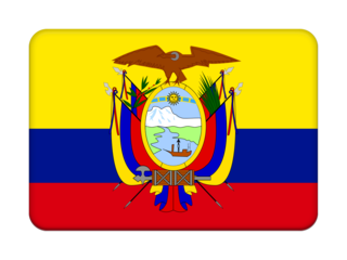 Ecuador simple flag 320x240